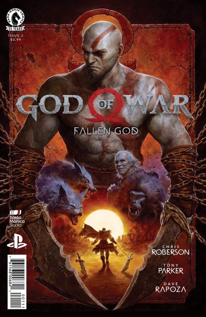 Capa de God of War: Fallen God.