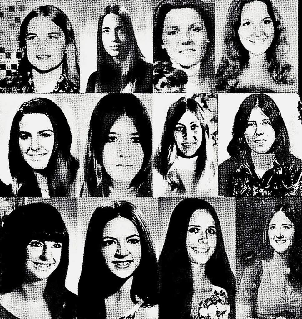 Algumas das vítimas de Bundy