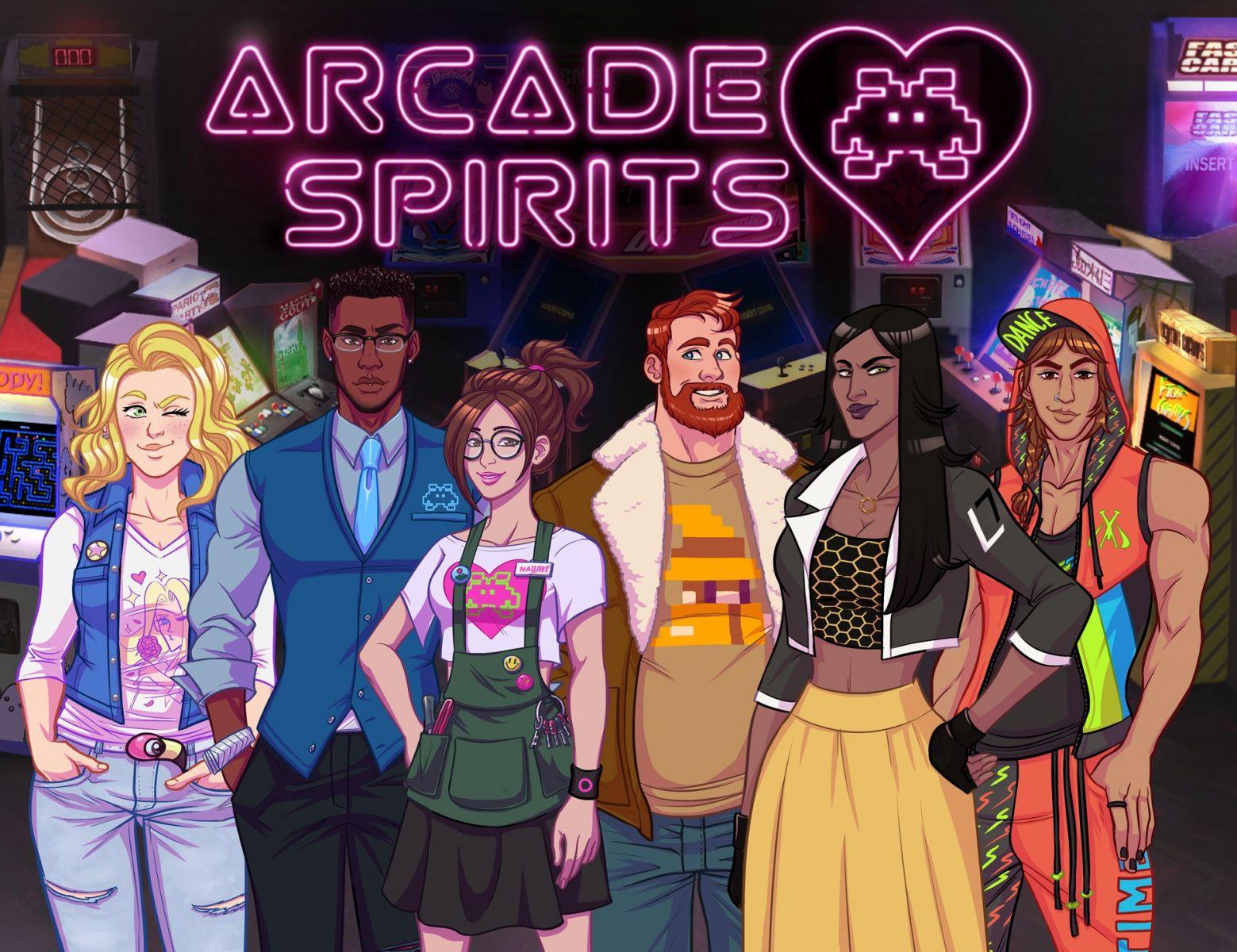 Personagens de Arcade Spirits