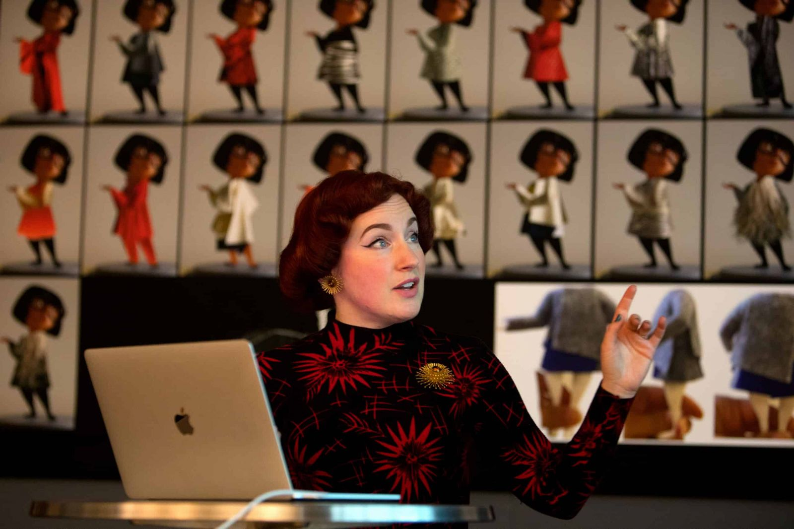 Deanna Marsigliese design de personagens da Pixar ( Foto/ Reprodução: Pixar Animation Studios)
