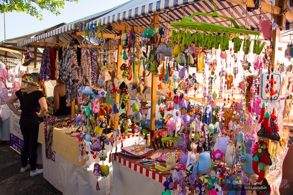 Feira de artesanato em Niterói