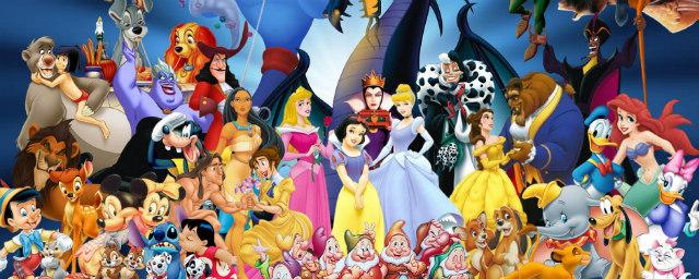 (Montagem com personagens da Disney. Reprodução: Walt Disney Studios/ Adoro Cinema)
