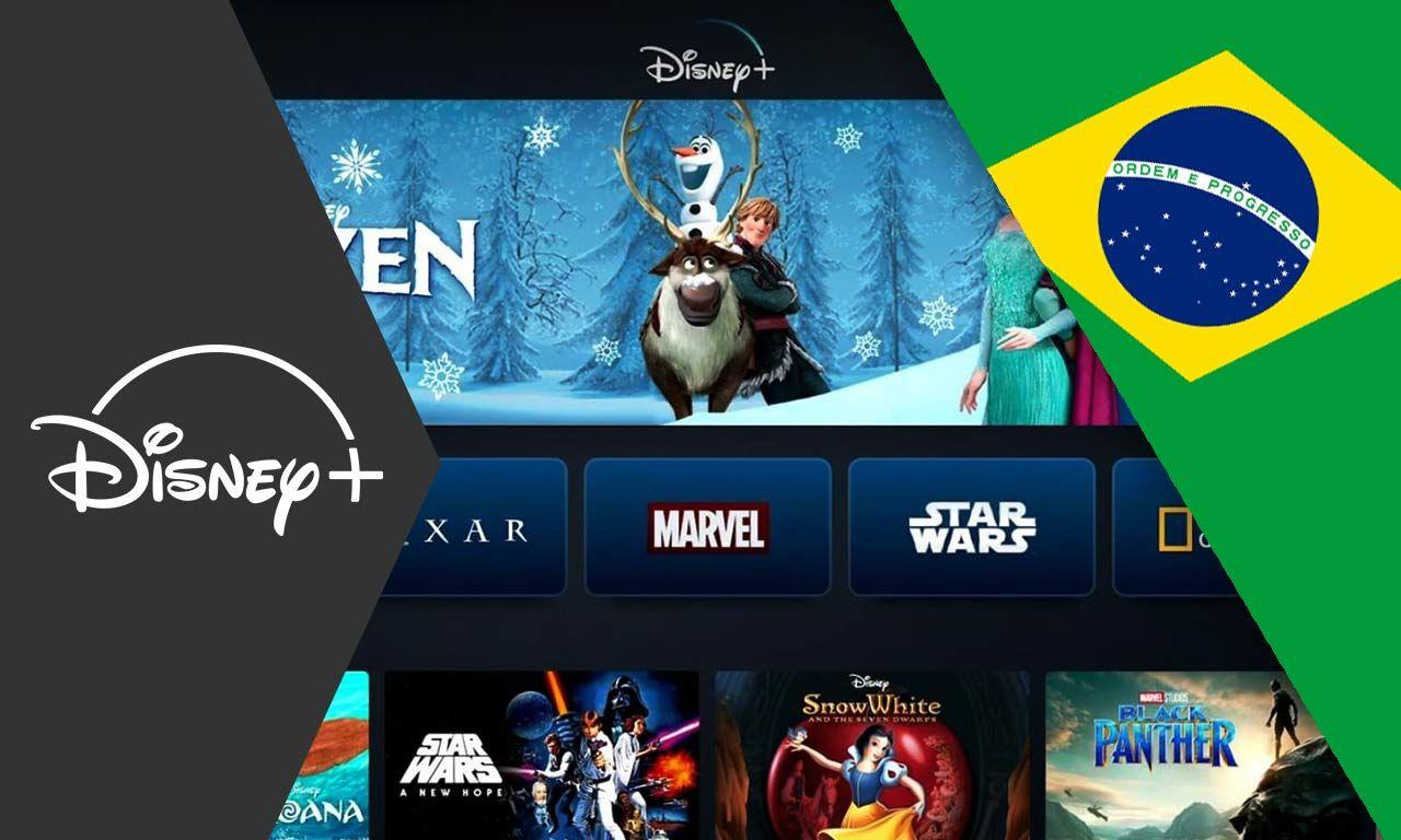 Disney+ estreia no Brasil