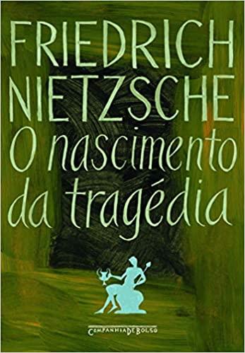 Capa do livro de Friederich Nietzsche, O Nascimento da Tragédia