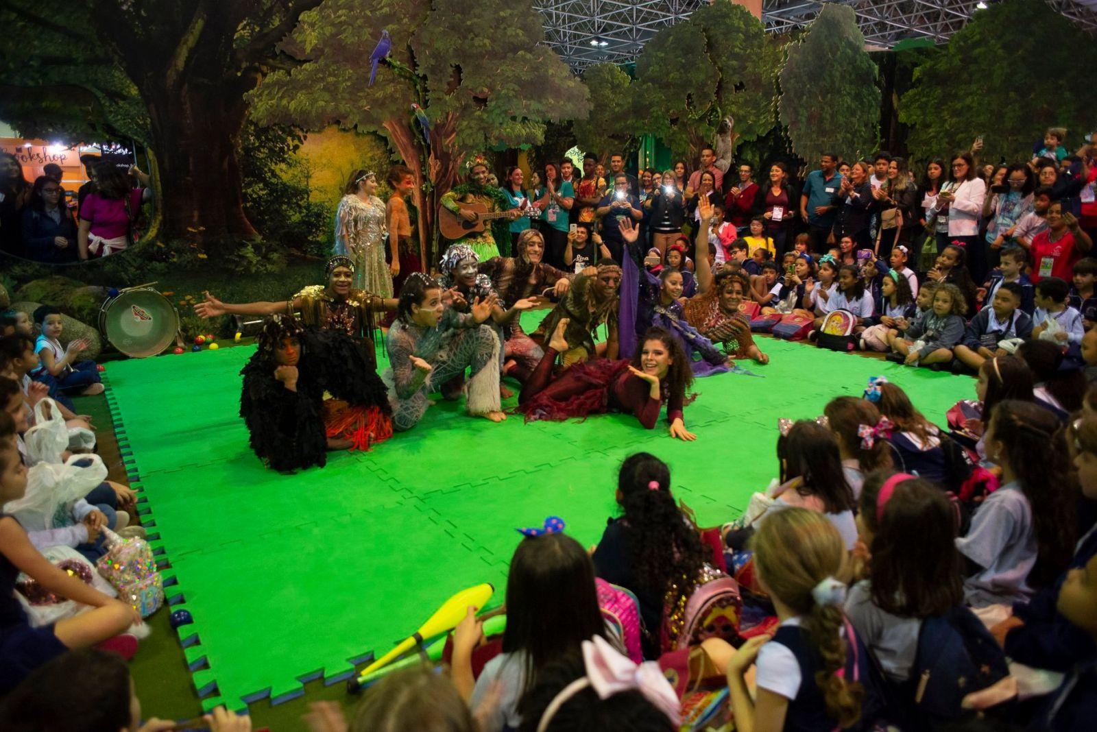 Espaço voltado para crianças.  Foto: Divulgação/ Bienal do Livro Rio