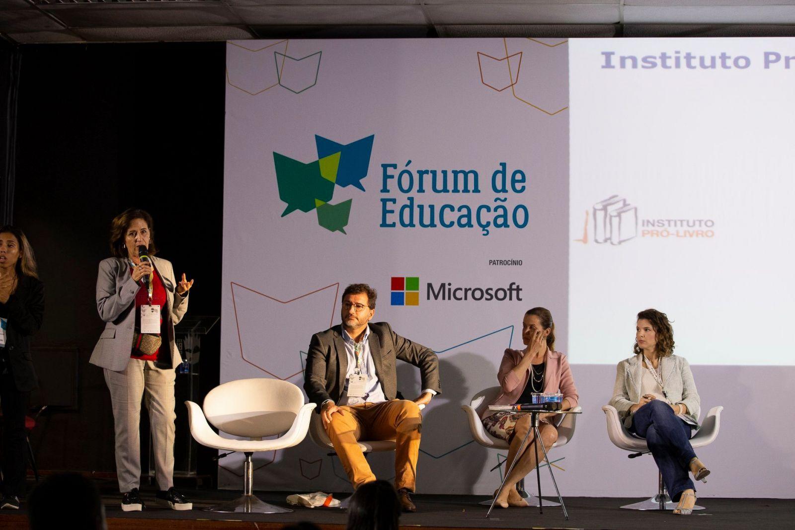 Fórum da Educação   Foto: Divulgação/ Bienal do Livro Rio