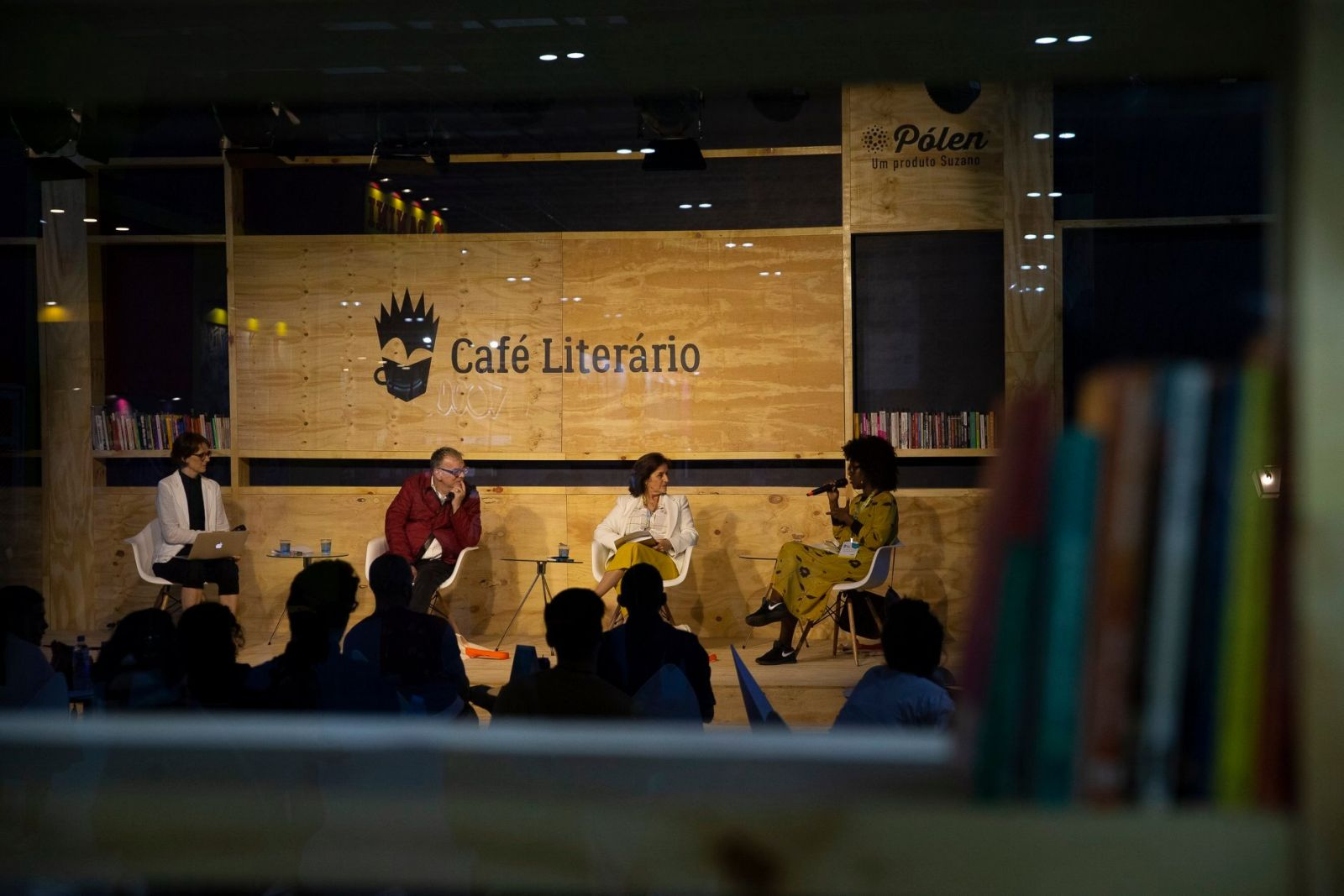 Café Literário. Foto: Divulgação/ Bienal do Livro Rio