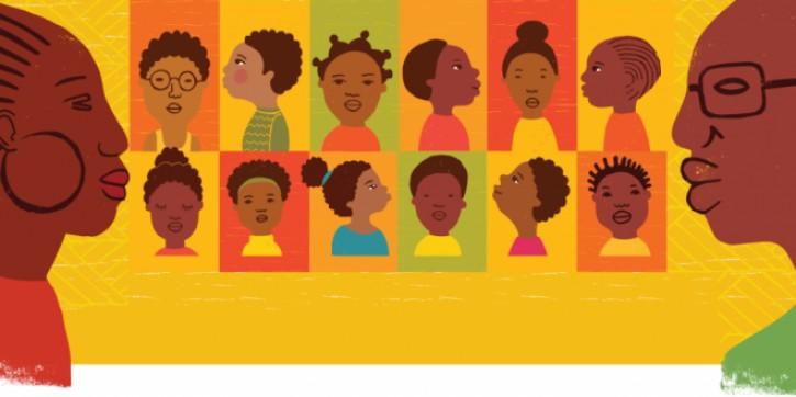 Valorização da identidade negra é essencial na luta anti-racista. Foto retirada do site: Centro de Estudos das Relações de Trabalho e Desigualdade