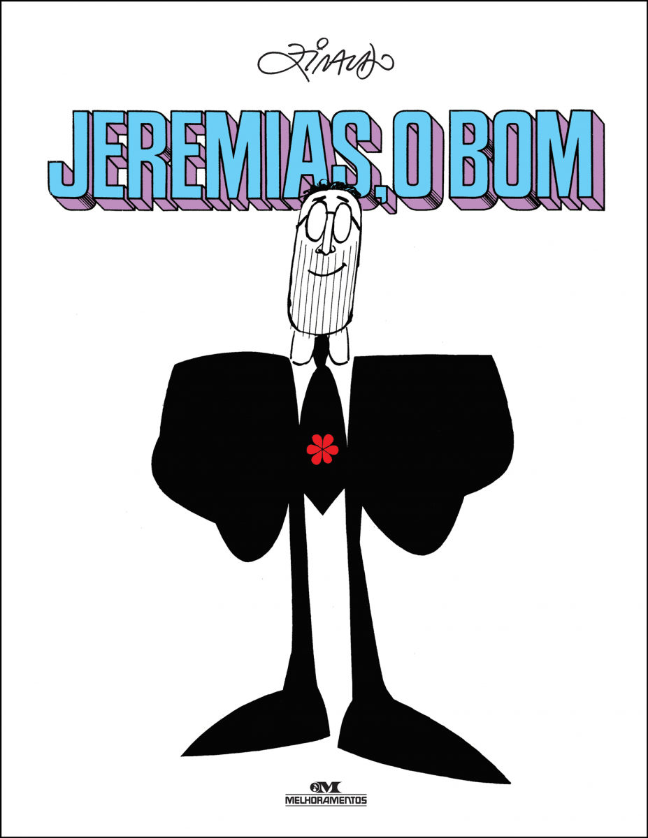 Capa da obra: Jeremias, o Bom // Ziraldo