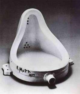A fonte (1917) , obra dadaísta de Marcel Duchamp