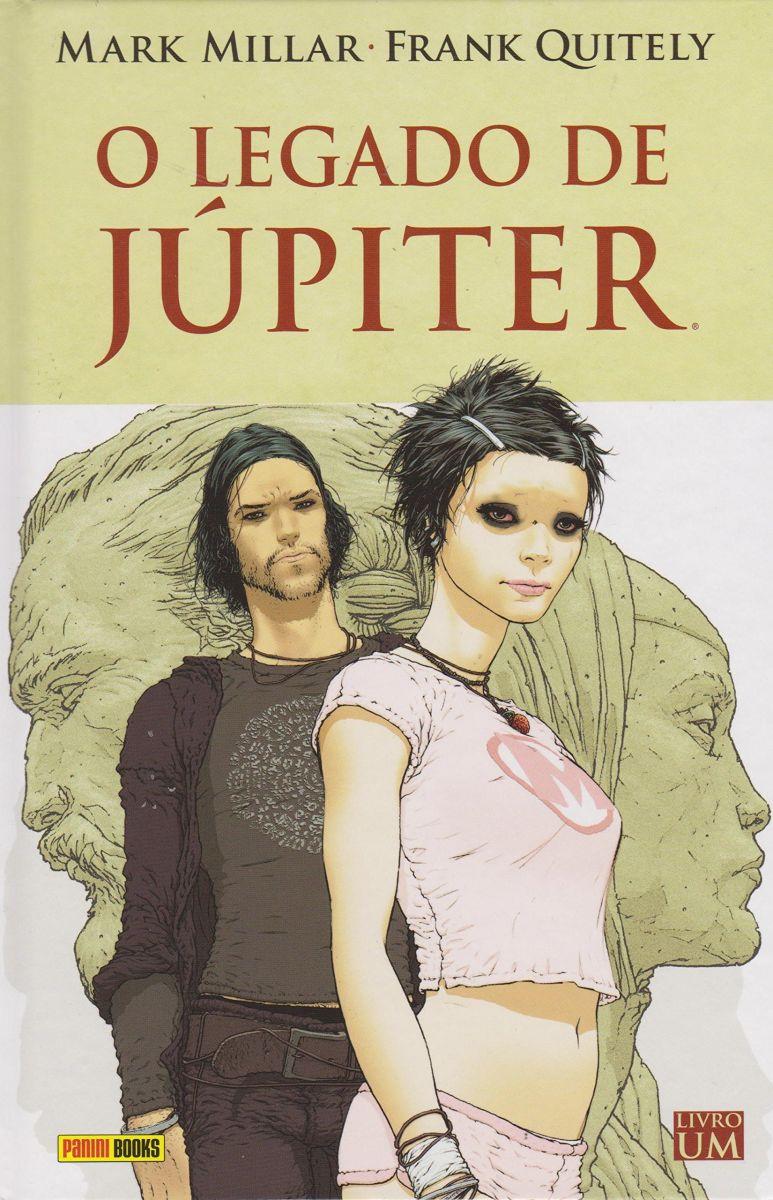 O Legado de Júpiter. 1º Edição. Fonte: Panini Books