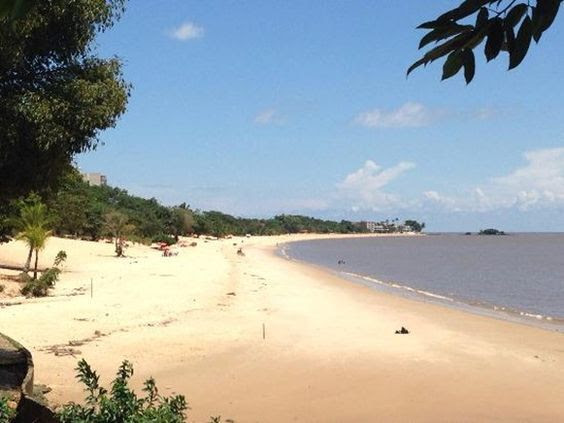 Praia de Mosqueiro (Foto: Pinterest)