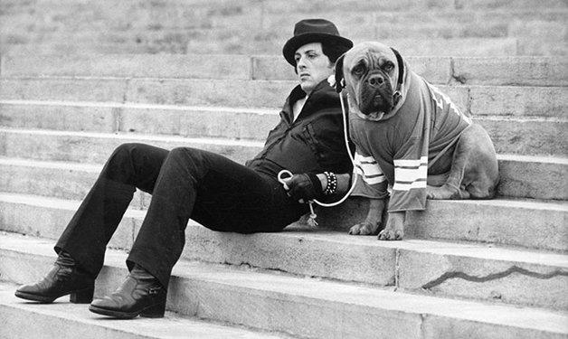 Stallone e Butkus - Créditos: Arquivo pessoal do ator