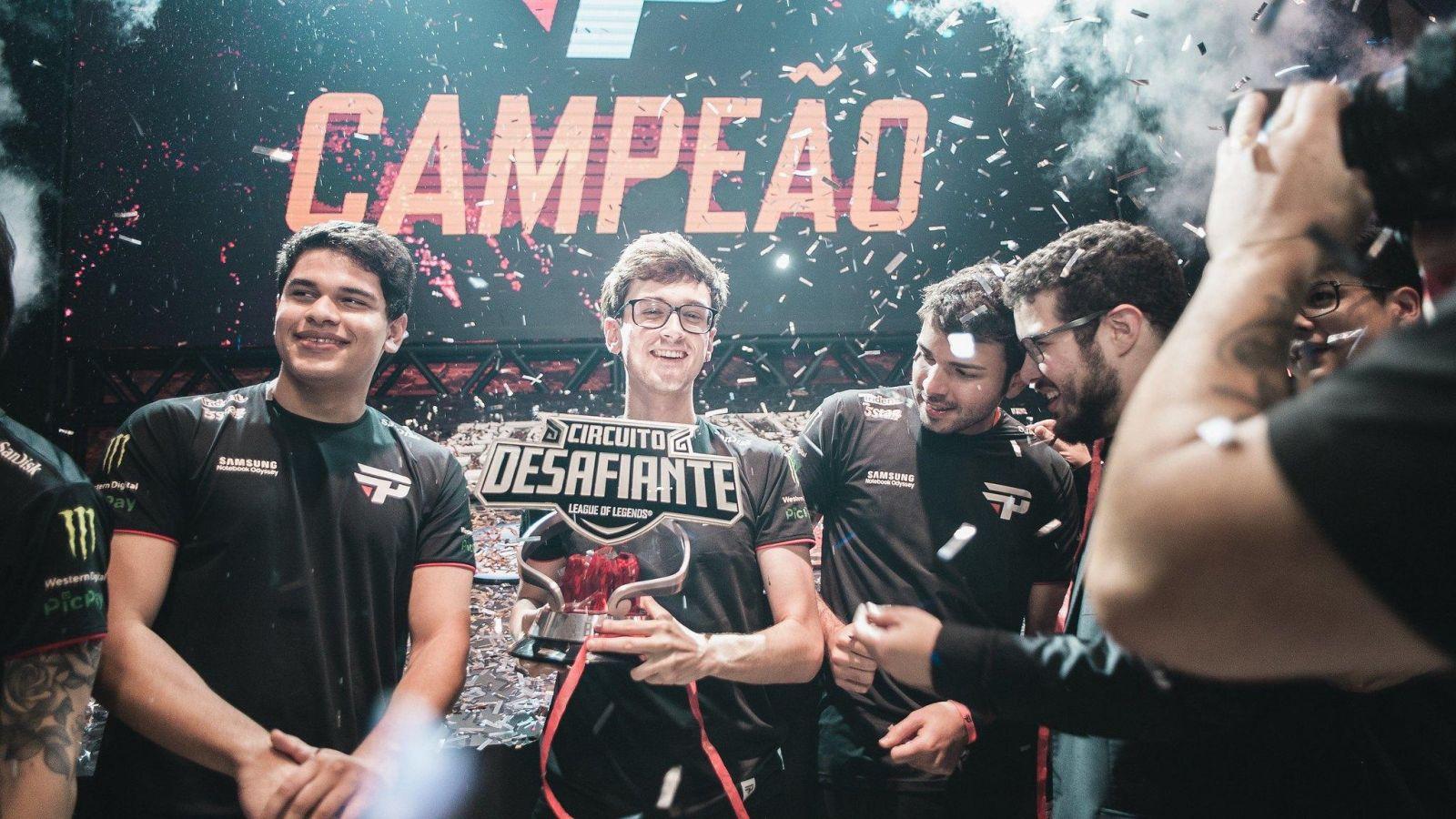 Pain Gaming é a atual campeã do Circuito Desafiante (Foto: Divulgação/BBL)