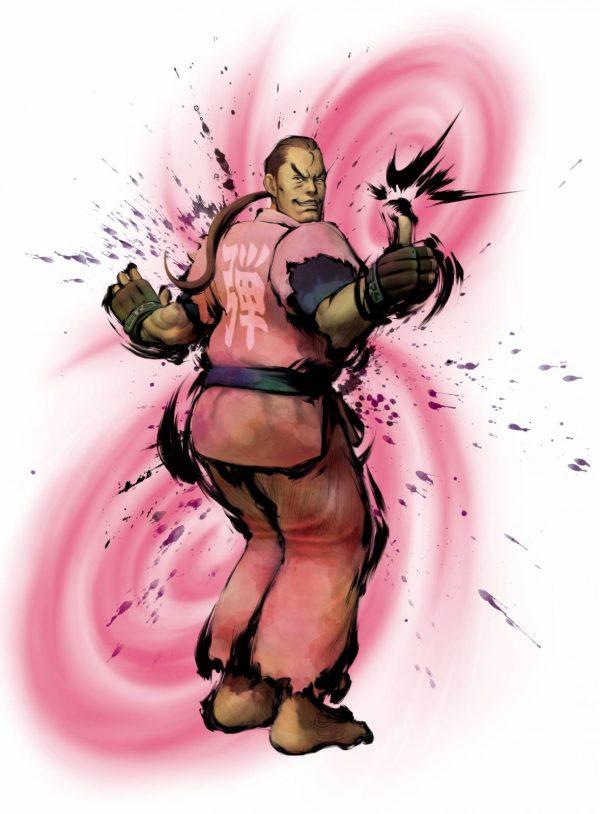 Personagem Dan Hibiki, de Street Fighter