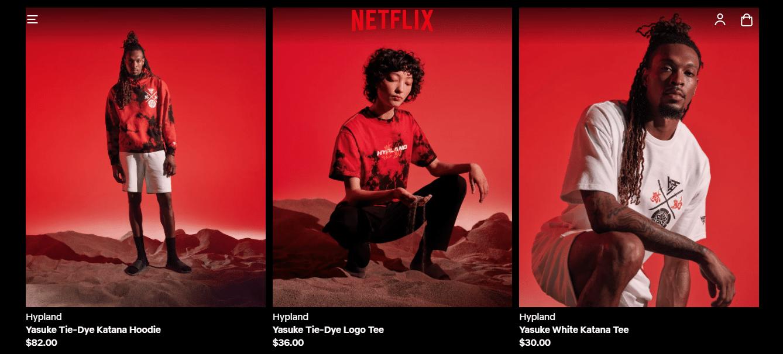 (Foto: Reprodução/ Netflix.Shop)