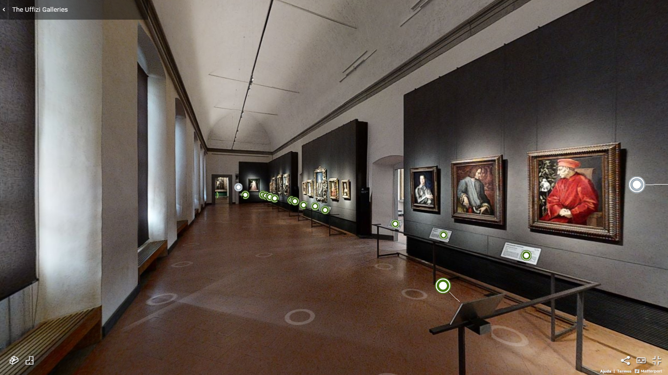 Galleria degli Uffizi, Florença, Itália