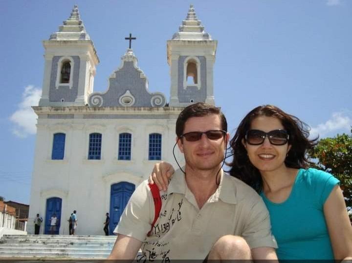 Edson e Adriana, em Maceió (AL)