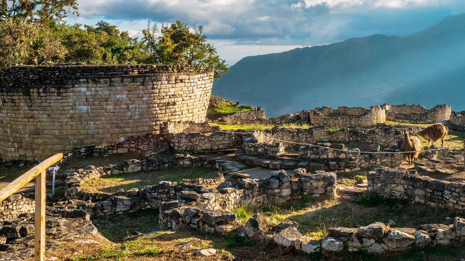 Fortaleza de Keulap lozalizada em Chacapoyas, Peru