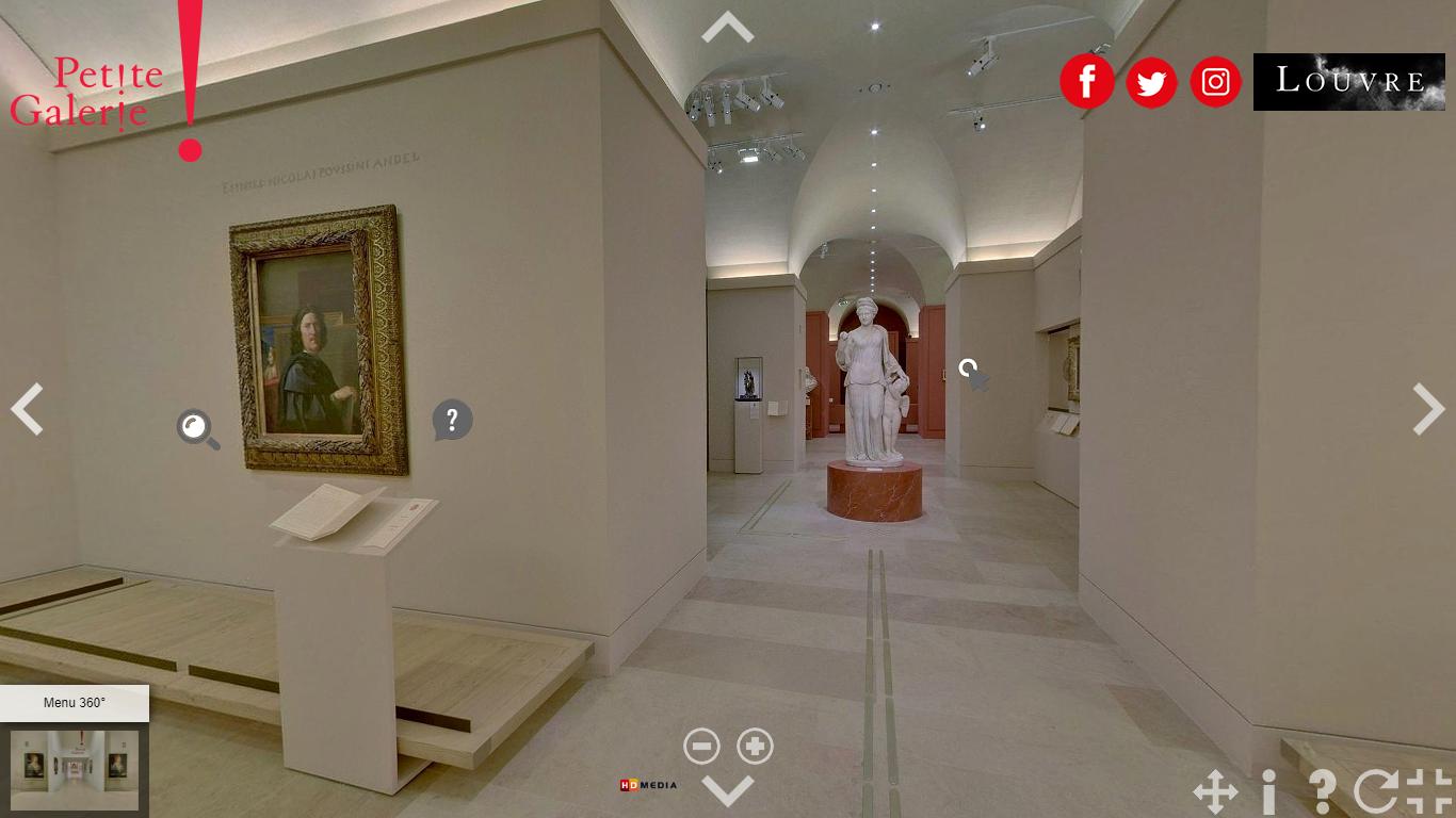 Petite Galerie, Louvre, Paris