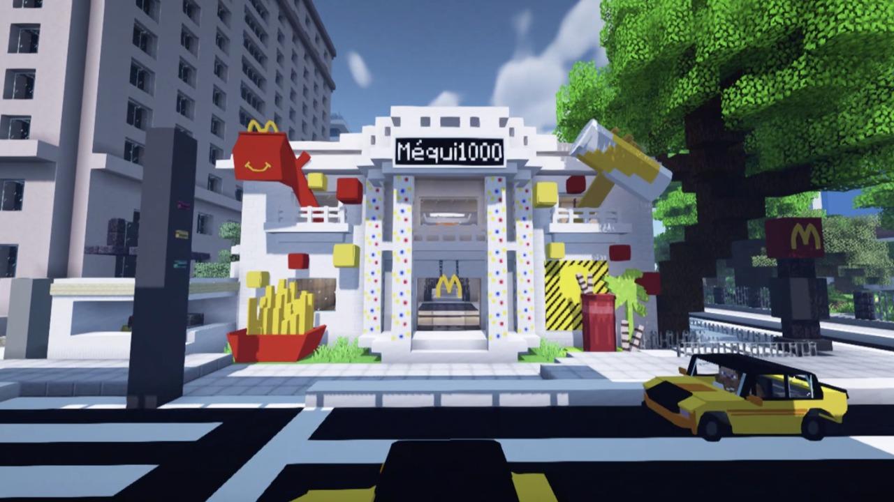 FONTE: Divulgação Minecraft - Méqui 1000