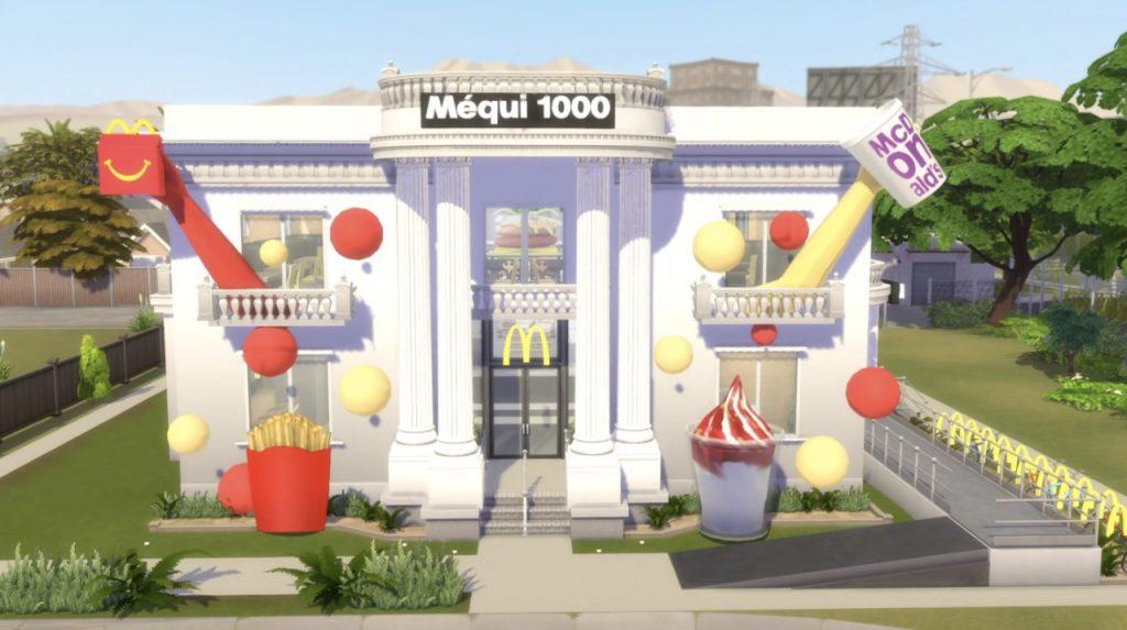 FONTE: Divulgação The Sims 4 Méqui 1000