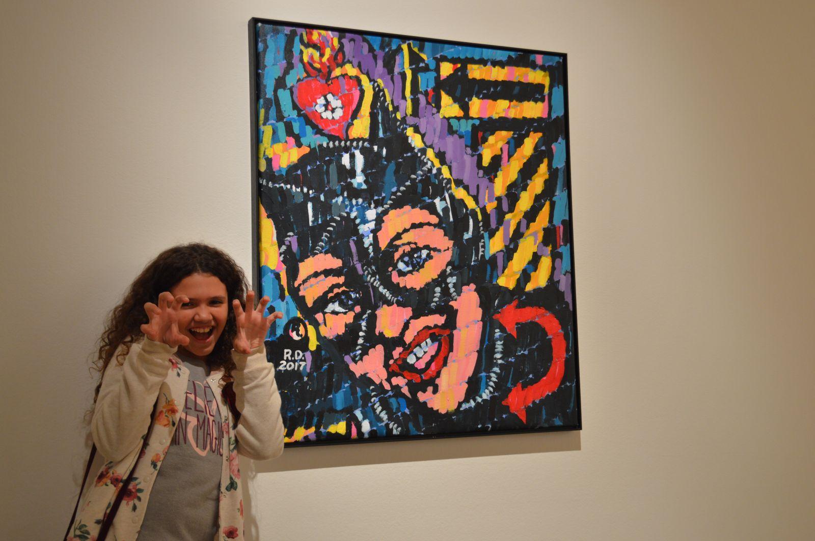 Mariana Rodrigues conheceu e se divertiu na Noite dos Museus - Crédito: Priscila Rodrigues