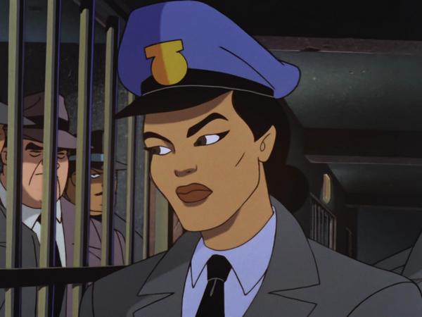 Reprodução: Cena de Batman - A Série Animada