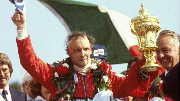Lauda conquista o campeonato mundial de 1977 (Foto: Reprodução/McLaren)