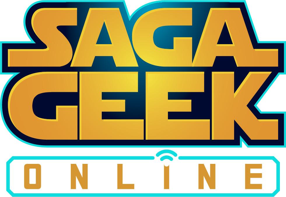 Logo do evento Saga Geek Online. Foto/ Divulgação: Gamers e Games