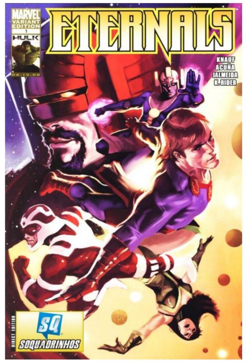 Edição de 2008 de Charles e Daniel Knauf. / Fonte: Marvel Comics