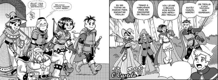 Fonte : Maurício de Sousa Produções   Panini Comics / Reprodução : Facebook (@turmadamonicajovemoficial)