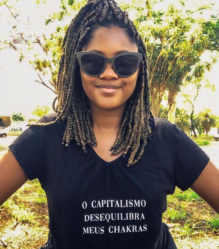 Ativista, professora e cientista social Jésscia Machado. (Foto: Instagram Pessoal)