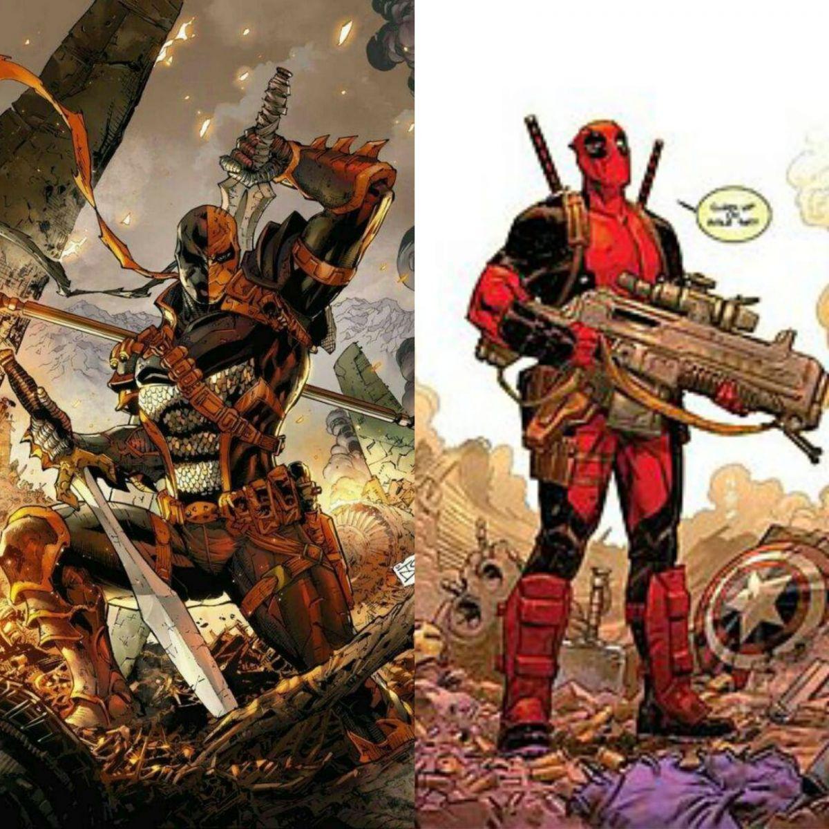 FONTE : Montagem/ DC Comics/ Marvel Comics.