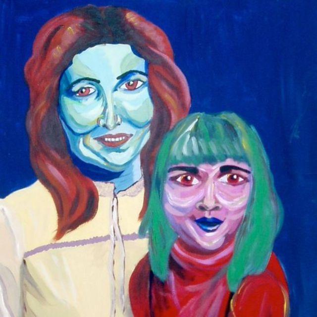 'Mama and Babe', de Sarah Irani, obra encontrada no Museu da Arte Feia