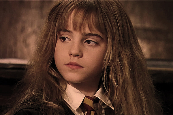 Hermione foi a primeira personagem com a qual Karen lembra ter se identificado