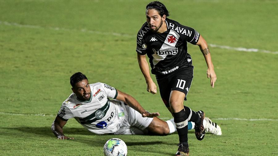 Martín Benítez em sua passagem pelo Vasco. Imagem: Thiago Ribeiro/AGIF