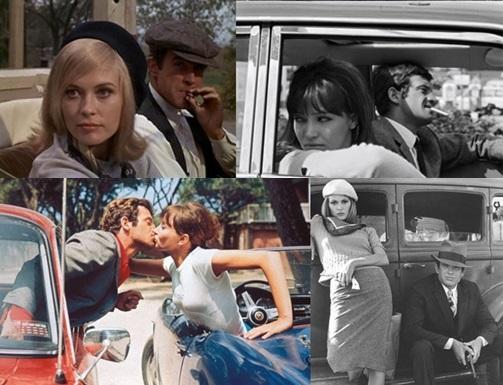 'Bonnie e Clyde - Uma Rajada de Bala' e 'O Demônio das Onde Horas' (Foto: Pinterest)