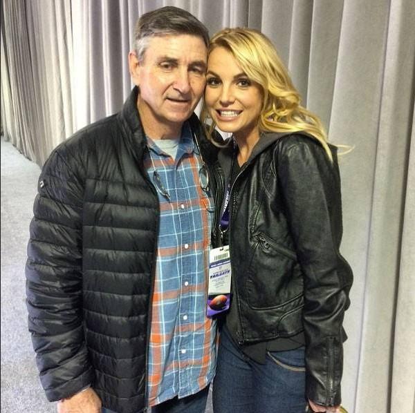 Britney e o pai, Jamie Spears
