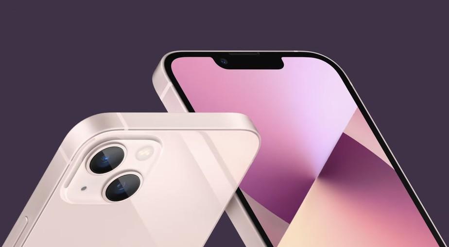 Novo iPhone 13. Foto: Divulgação/Apple