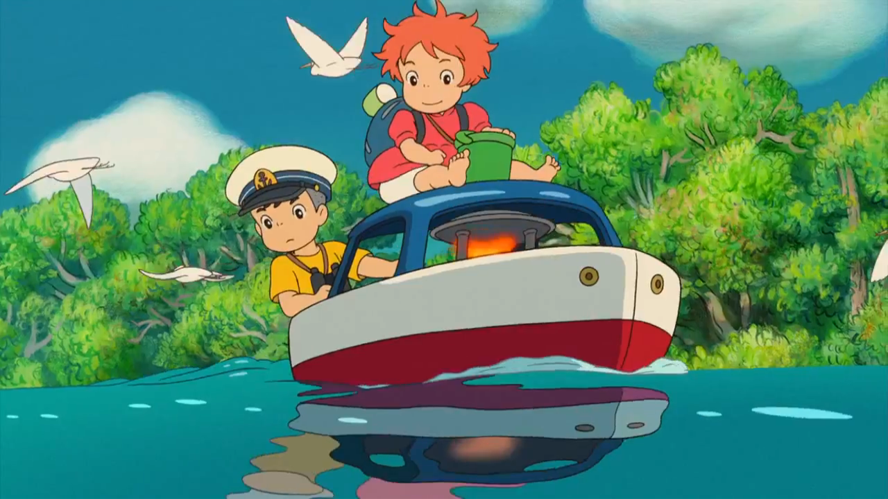 Ponyo: uma amizade que veio do mar / Reprodução: Studio Ghibli