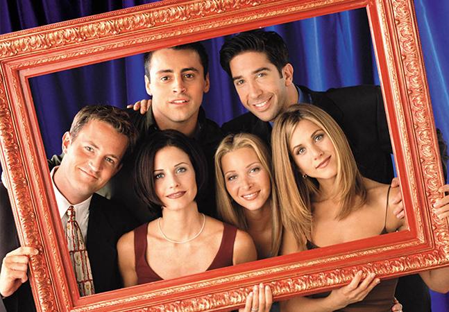A série F.R.I.E.N.D.S foi muito famosa nos anos 1990, voltando a fazer sucesso com os serviços streamings (Foto: Divulgação)