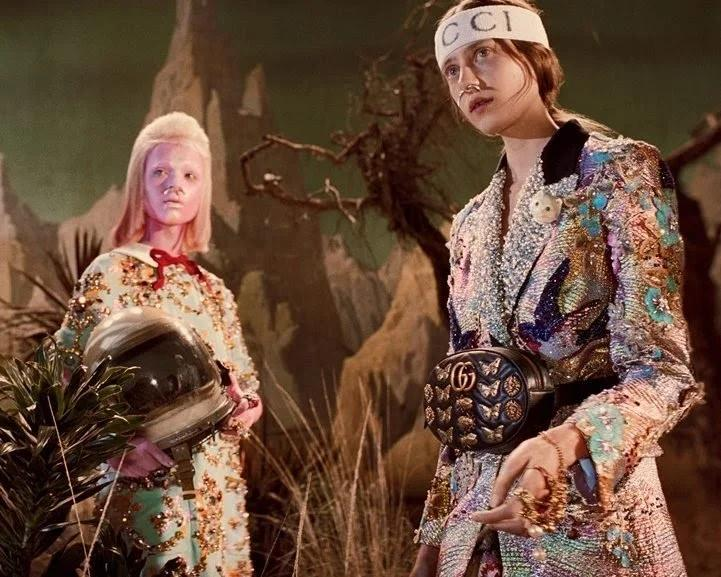 Campanha coleção outono inverno 2017 / FONTE: Gucci