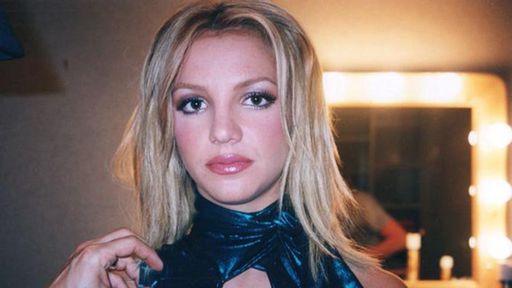 Britney Spears no documentário.