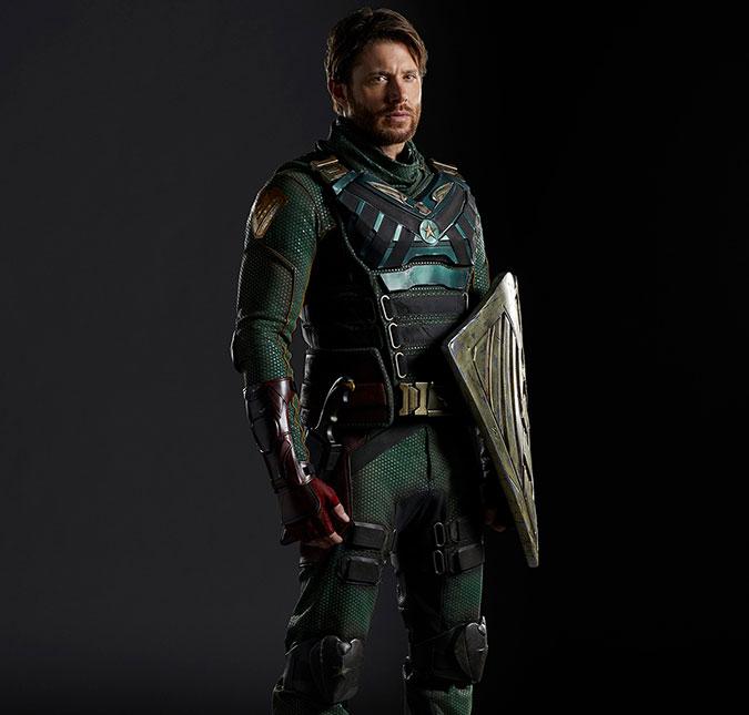 Visual de Jensen como Soldier Boy / Fonte: Entertainment Weekly