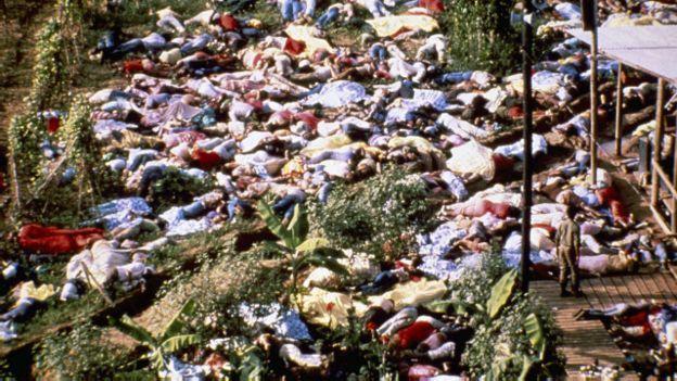 O massacre de Jonestown