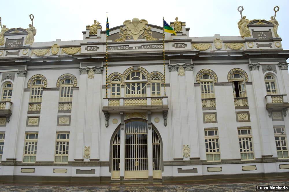 Palácio Olímpio Campos (antiga sede do Governo Estadual) - Fonte: Luiza Machado/Alese