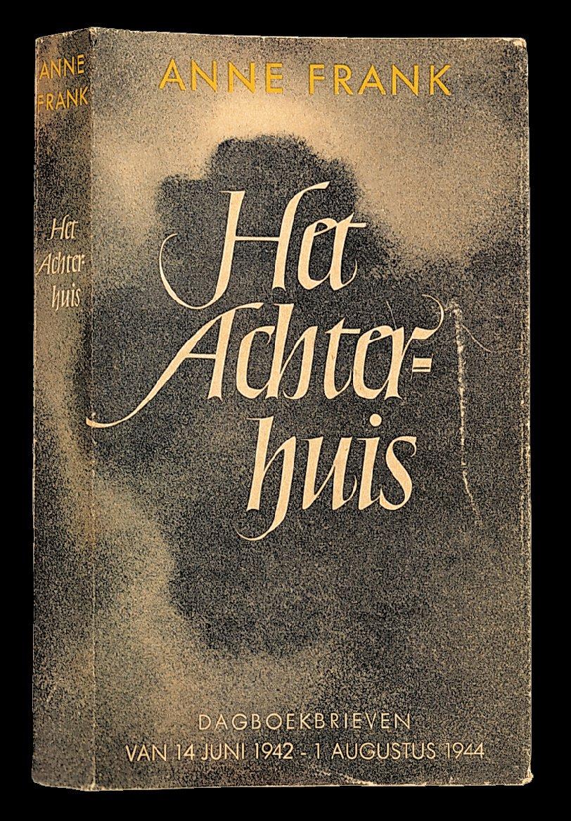 Capa da primeira edição de Het Achterhuis (O anexo secreto).