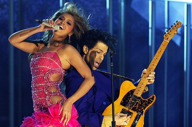 Reprodução / Beyoncé e Prince Grammy 2004