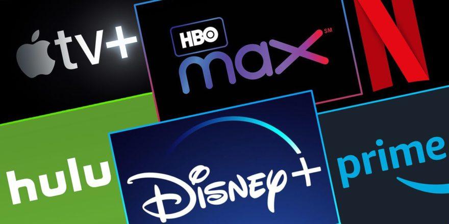 Logos de algumas plataformas de streaming. (Foto: Reprodução/ The Shoppers)